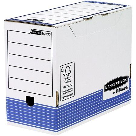 "Archívny box, 150 mm, ""BANKERS BOX® SYSTEM by FELLOWES®"", modrý"