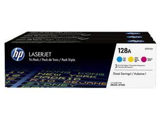 CF371AM toner multipack, Color LaserJet Pro CM1415, HP 128A c+m+y, 3*1,3K