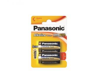 "Batéria, C baby, 2 ks, PANASONIC ""Alkaline power"""