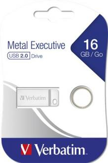 "USB kľúč, 16GB, USB 2.0,  VERBATIM ""Exclusive Metal"""