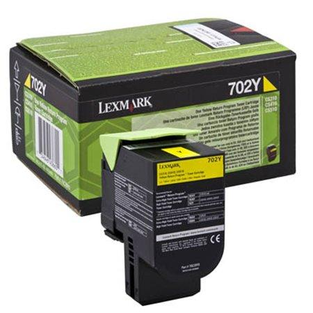 70C20Y0 toner  do tlačiarne CS310/410/510, LEXMARK, žltý, 1k (return)