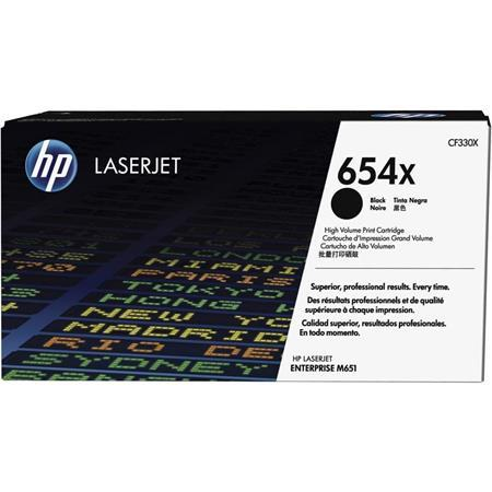 CF330X toner do tlačiarne Color LaserJet Enterprise M651, HP 654X, čierna, 20,5k